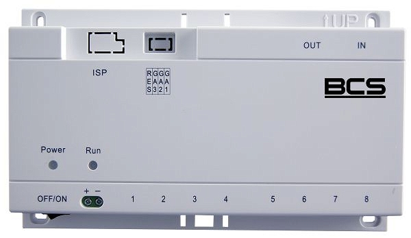 Switch PoE BCS-SP06 dedykow. do videodomof.IP
